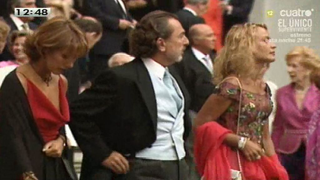 Gran parte de los acusados por Gürtel fueron invitados en la boda de la hija de Aznar