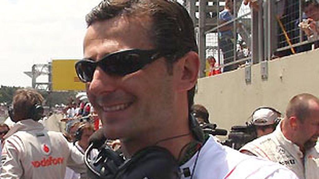 Pedro de la Rosa. FOTO: Archivo.
