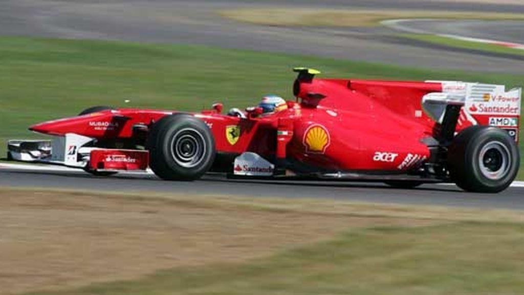Segundo mejor tiempo para Alonso en Silverstone