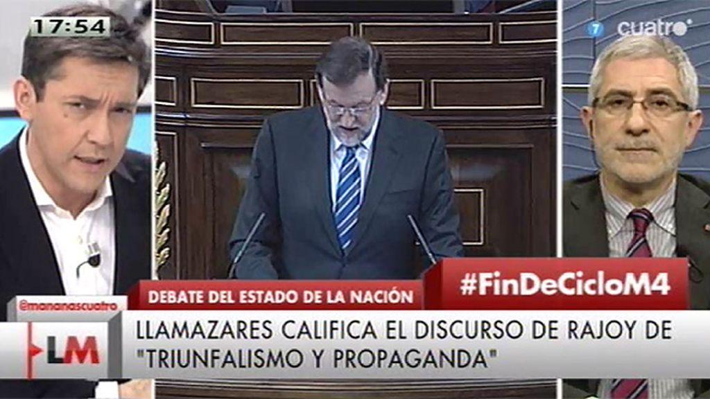 """Gaspar Llamazares, de la ley de segunda oportunidad: """"Se han opuesto a esta medida en diversas ocasiones"""""""
