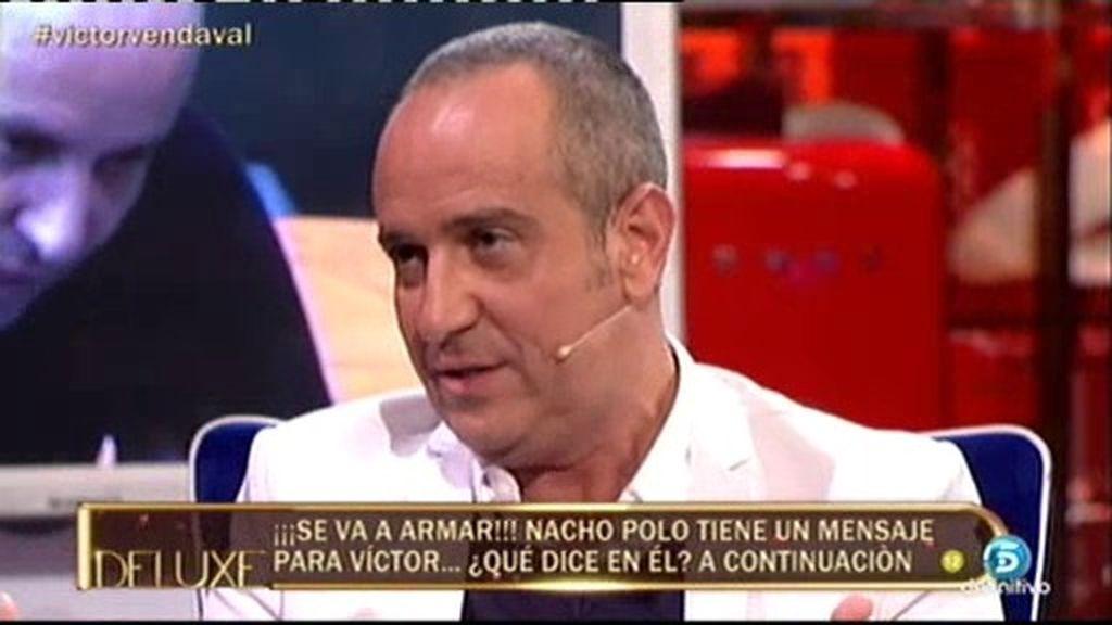 """Víctor, sobre Belén: """"Es una de las mejores personas que he encontrado nunca"""""""