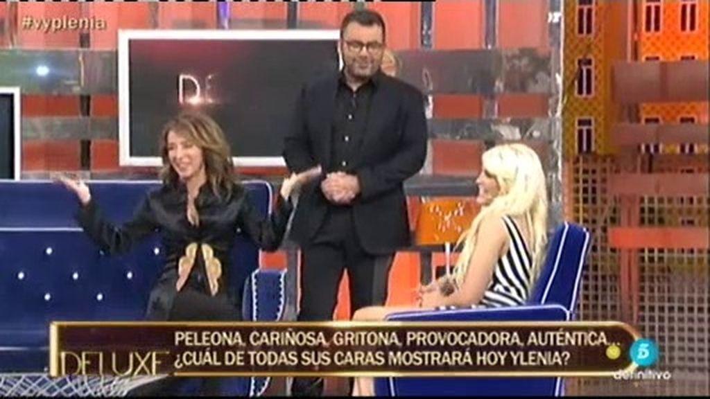 Jorge Javier aparece por sorpresa para entrevistar a Ylenia