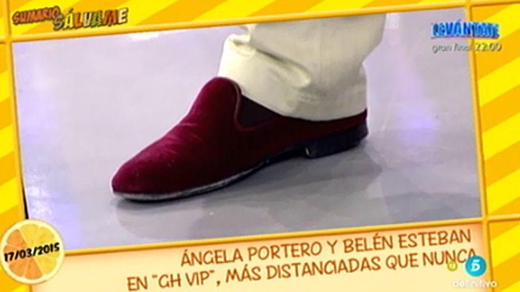 """Los zapatos """"estilo millonario"""" de J. Manuel"""