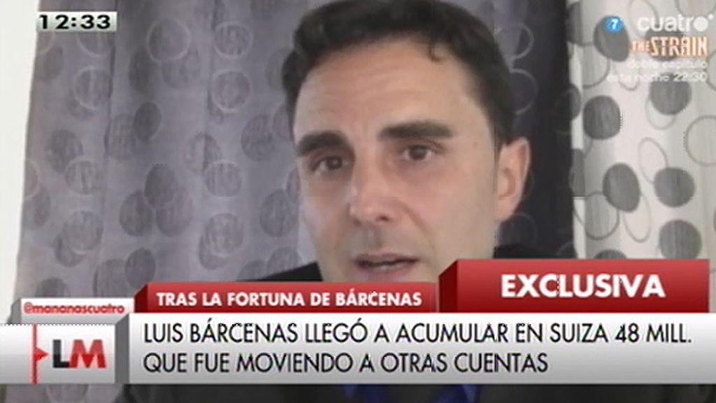 """Falciani, de Bárcenas: """"El PP quiere que olvidemos quién es esta persona, pero existe"""""""