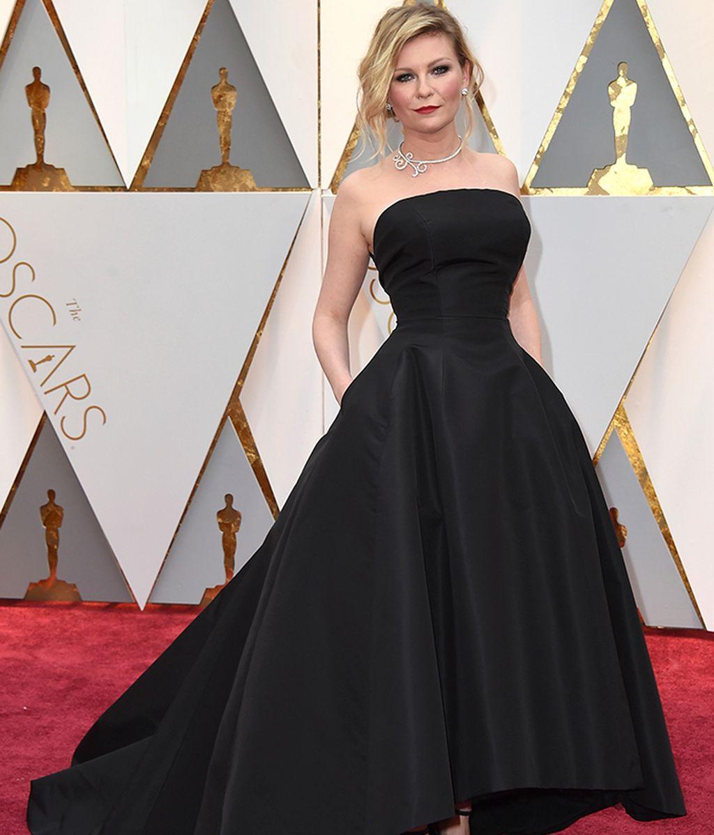 Kirsten Dunst con vestido de Dior