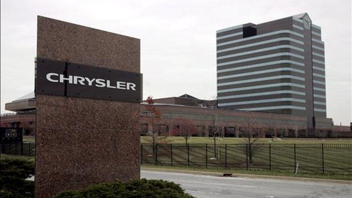 Con su venta, Chrysler podría salir de la situación de bancarrota y crearía junto a Fiat un nuevo grupo automovilístico que también se llamaría Chrysler. EFE/Archivo
