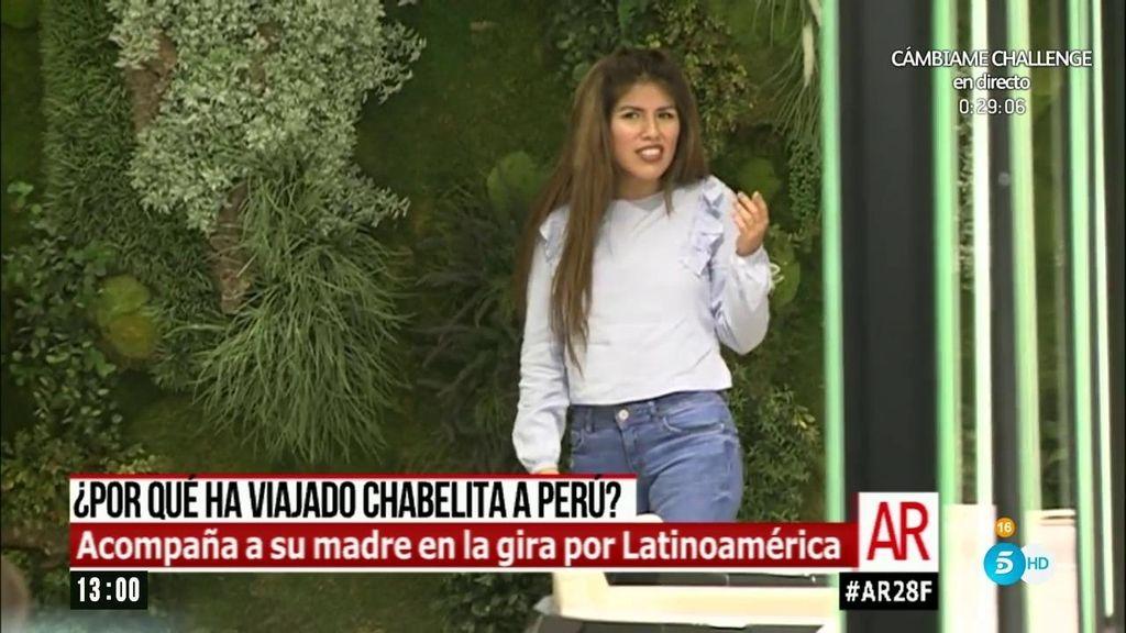 Las razones del polémico regreso de Chabelita a Perú