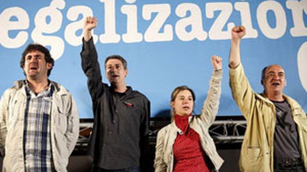 Bildu estará presente en las elecciones. Vídeo: Informativos Telecinco.