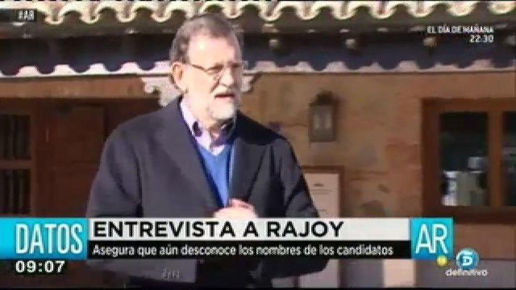 Mariano Rajoy, más cercano y más abierto a responder a los medios en 2015