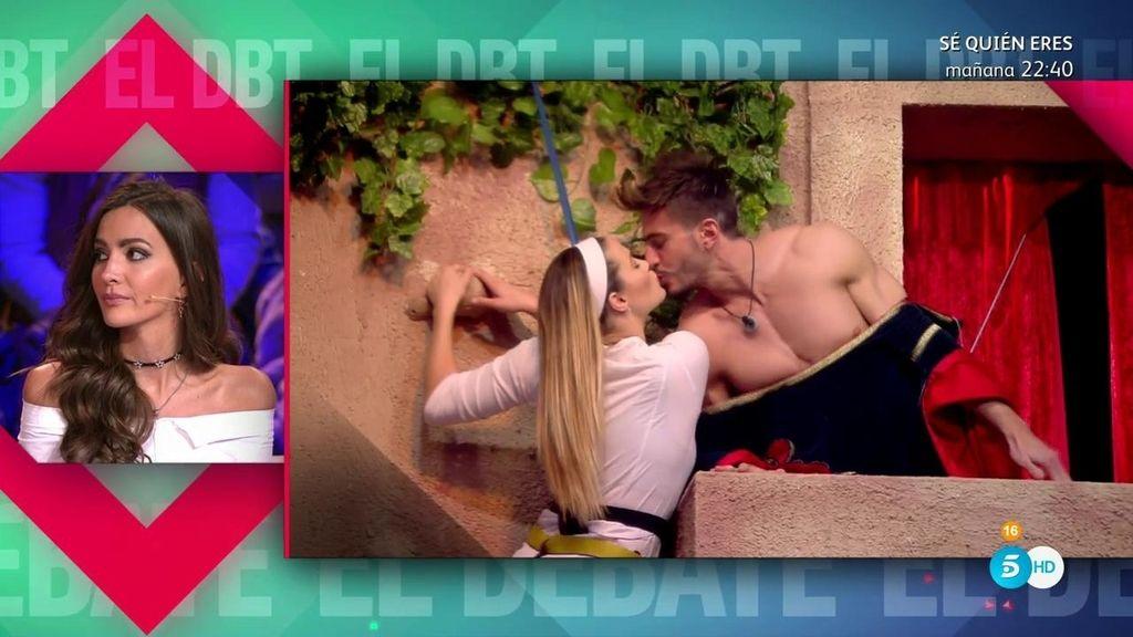 """Aylén Milla, del pico de Alyson y Marco: """"Si me da ese beso a mí, lo escupo"""""""