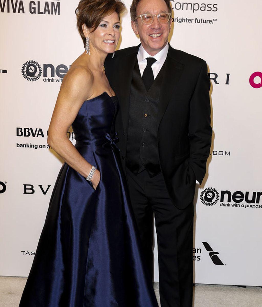 Tim Allen acudía al evento junto a su esposa, Jane Hajduk