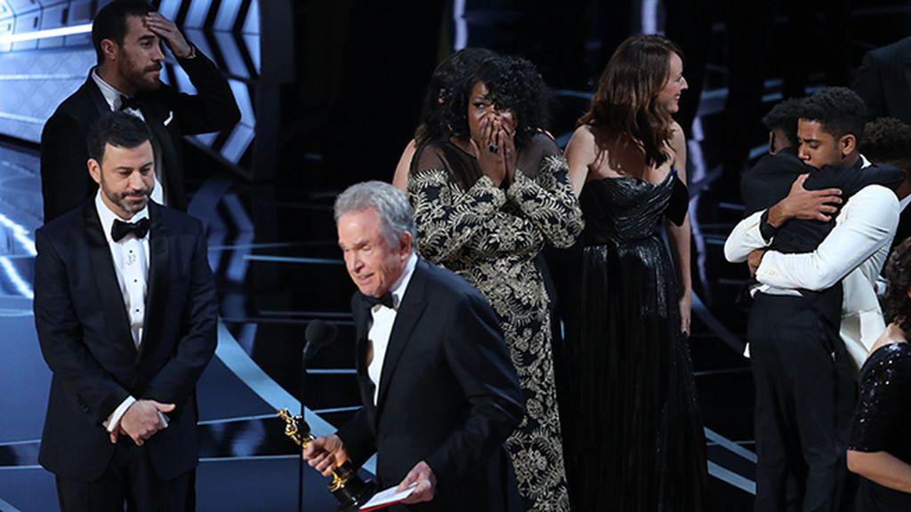 El error en las tarjetas de Mejor Película ensombrece una gala de los Oscar casi perfecta