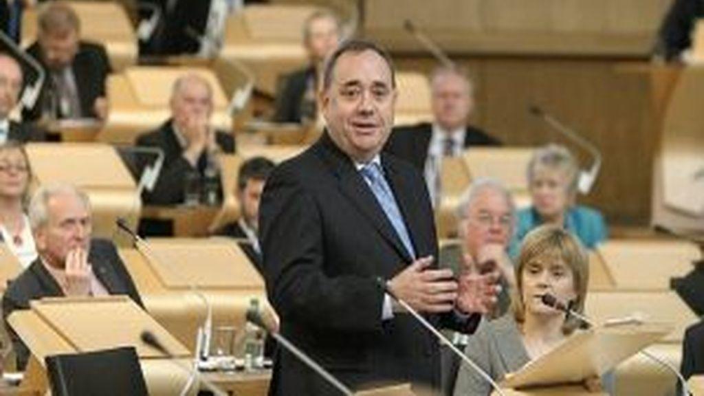 Alex Salmond, primer ministro de Escocia y líder del Partido Nacionalista Escocés (SNP). Foto: EFE.