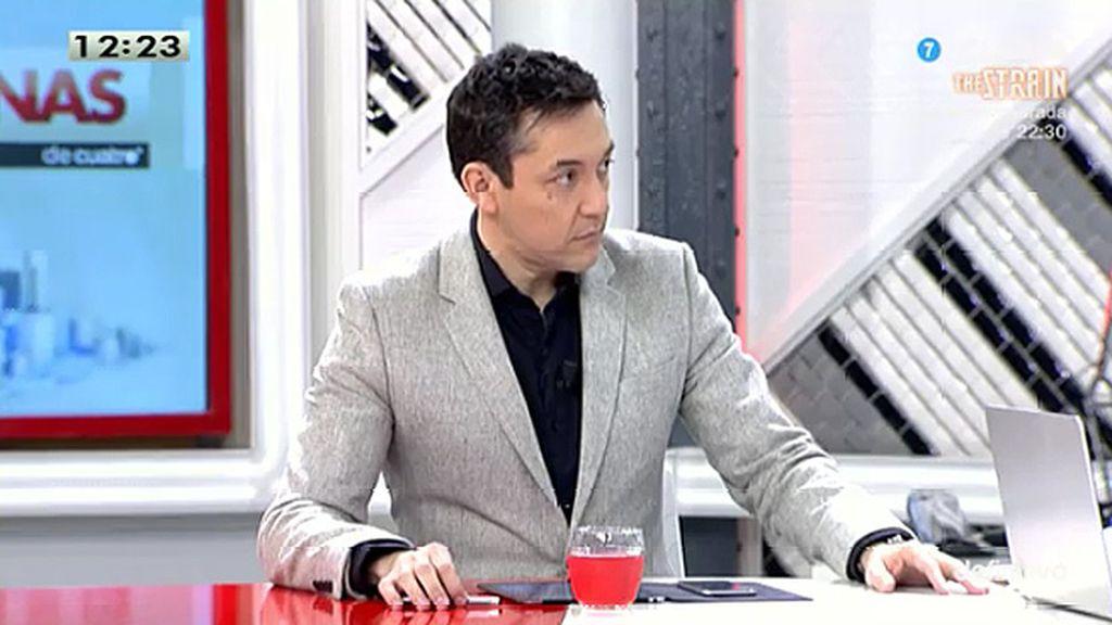 El despacho de Montoro asesoró a la trama Gürtel, según Javier Ruiz