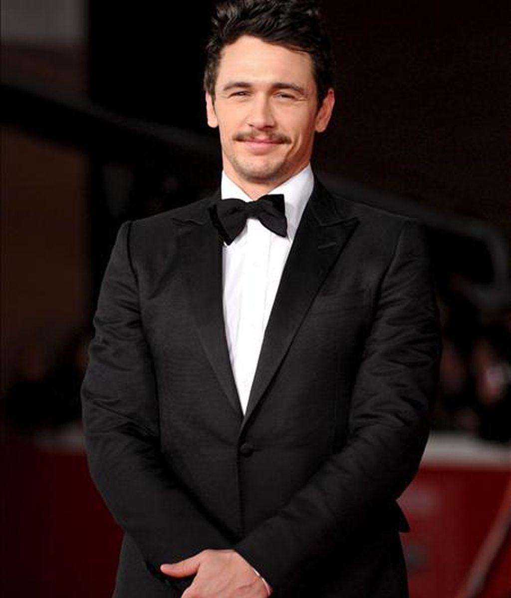 """Para James Franco, intérprete de filmes como """"Eat, Love, Pray"""", """"Date Night"""", """"Milk"""", """"Pineapple Express"""" y la saga """"Spider-Man"""", será la segunda vez que aparezca en la gala de los Óscar. EFE/Archivo"""