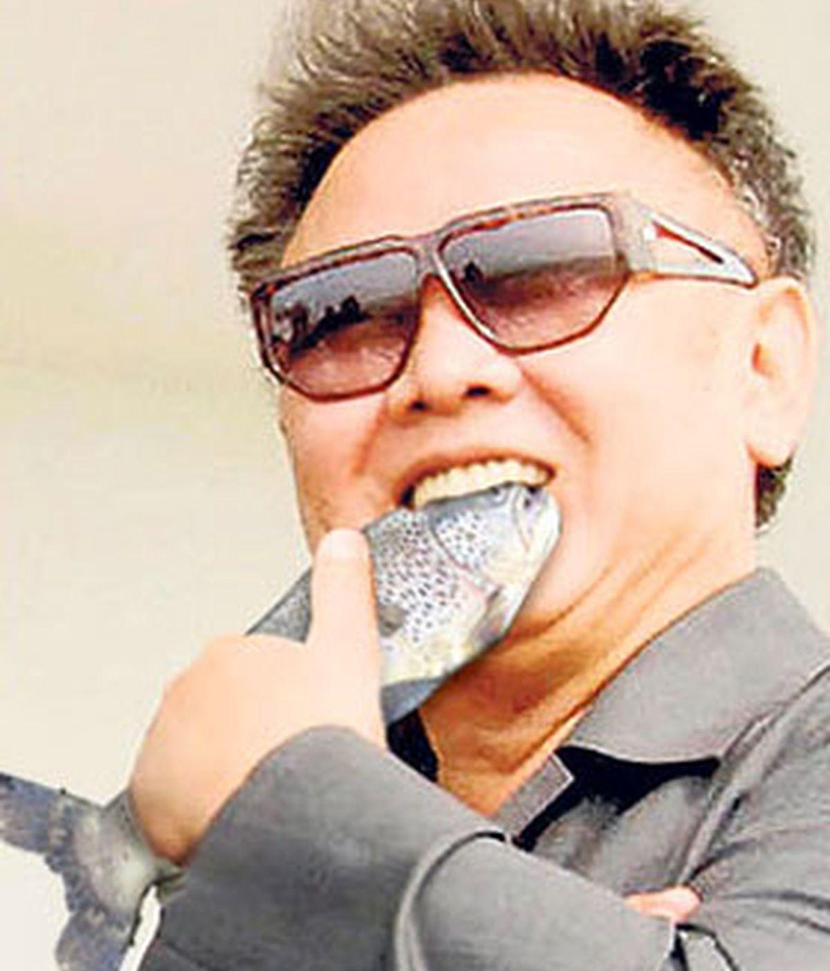 El líder norcoreano, Kim Jong-il y sus exclusivos gustos. Foto The Sun