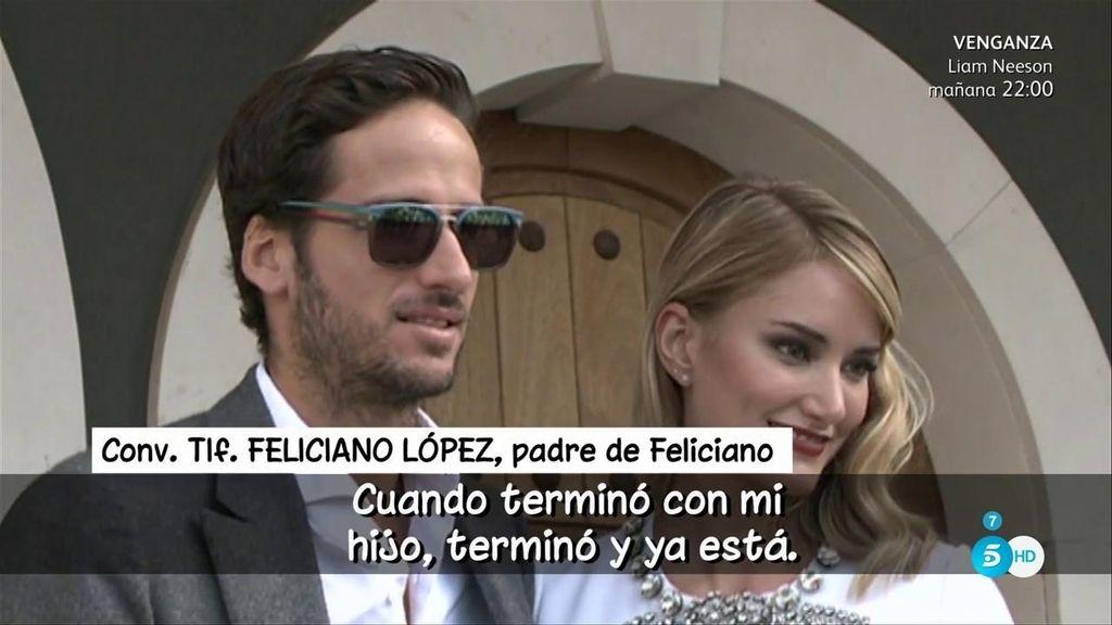"""El padre de Feliciano López, de Alba Carrillo: """"No tenemos ninguna relación"""""""