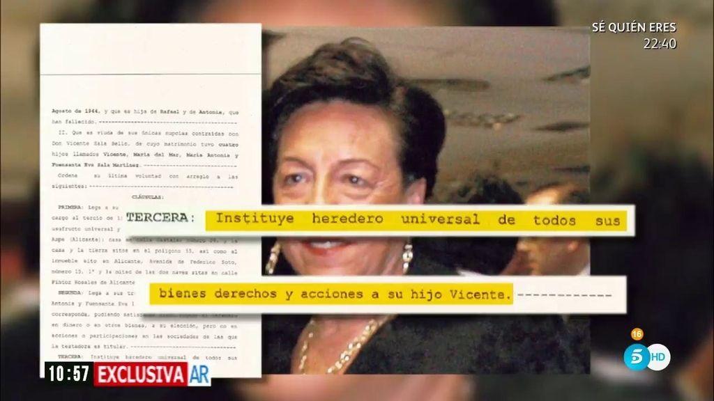 Crimen de la CAM: ¿Qué cambió en el testamento la víctima antes de su muerte?
