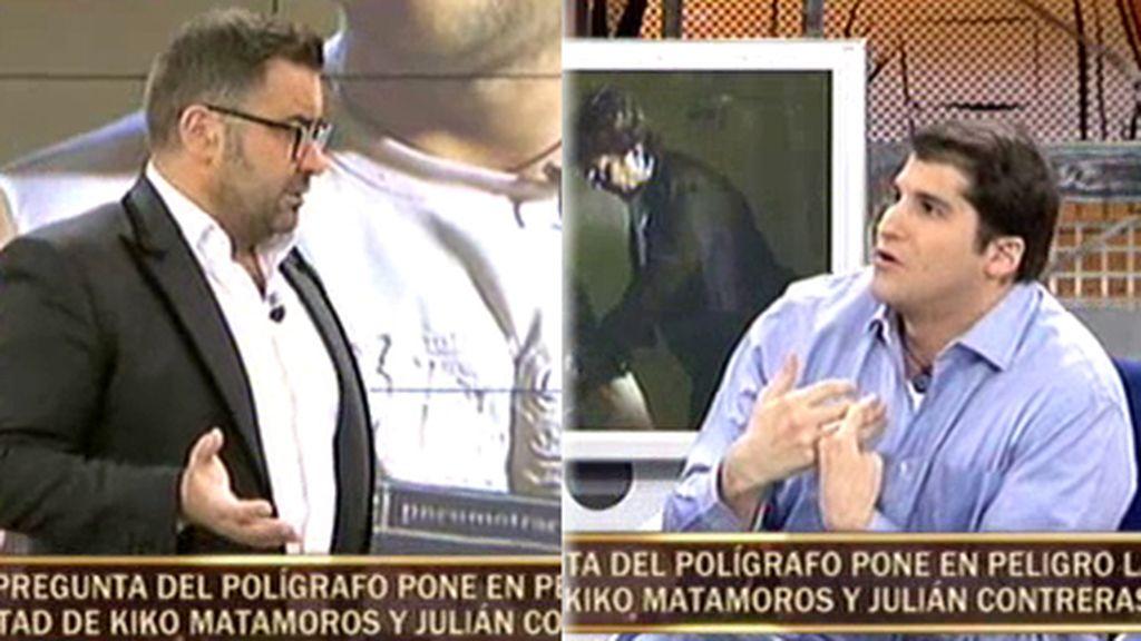 """Jorge Javier  abronca a Julián Contreras Jr.: """"Tenías que haber sido más profesional"""""""