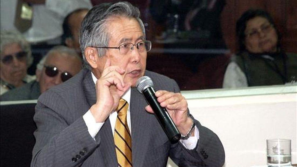 """""""Fujimori asumió una relación de facto de las fuerzas armadas, fue un comandante de verdad. Su decisión política generó un dominio claro y directo sobre el mando militar"""", explicó el abogado Carlos Rivera. EFE/Archivo"""