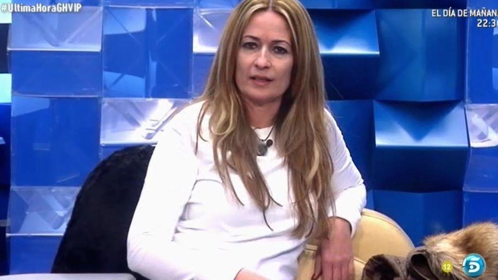 """Olvido Hormigos, tras discutir con Belén: """"Que me echen el jueves por favor"""""""