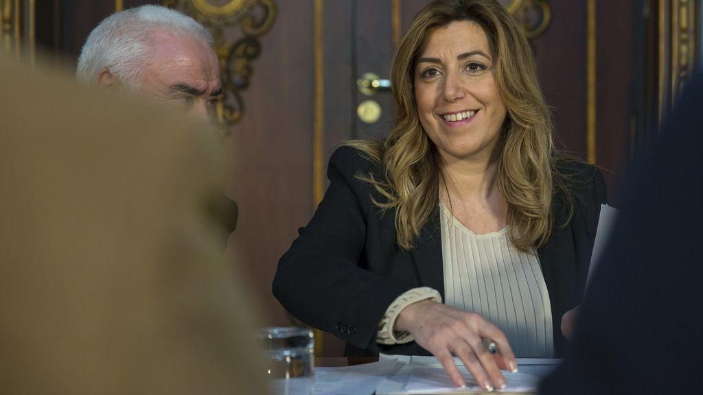 Susana Díaz le ha dado un ultimátum a Sánchez para que pacte con ella