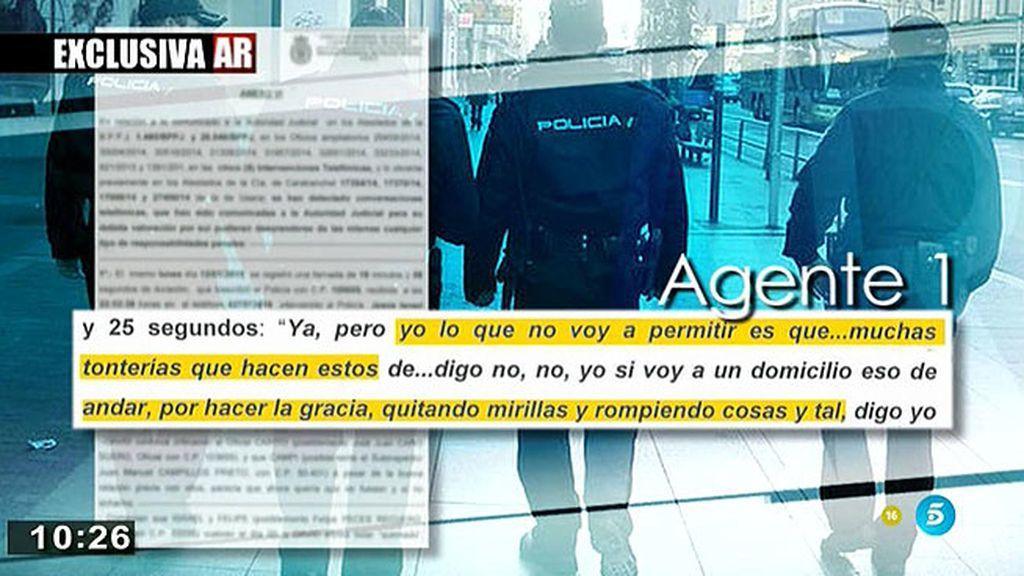 Los agentes de Carabanchel hablan de torturas a los detenidos