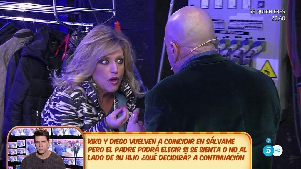 "Kiko Matamoros, a Lydia Lozano: ""¿Y este rapto de niñata?"""