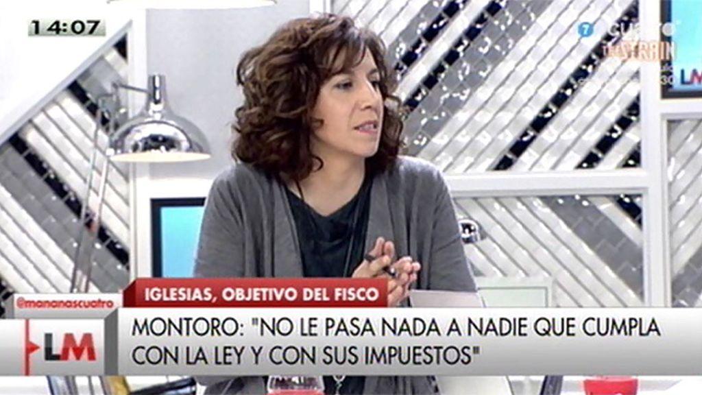 """I. Lozano: """"Montoro no puede poner las instituciones al servicio de sus intereses"""""""