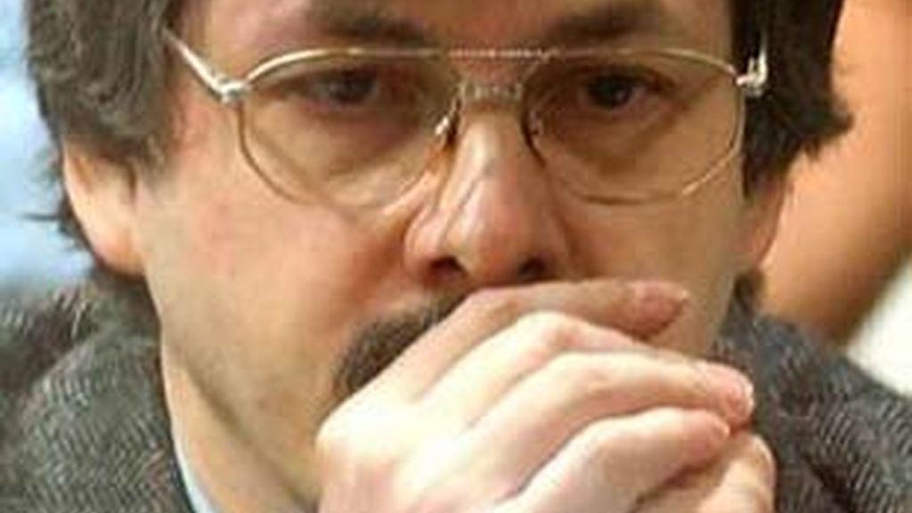 Imagen de archivo del pederasta belga Marc Dutroux, condenado en 2004 a cadena perpetua por la violación, asesinato y secuestro de varias menores y jóvenes.