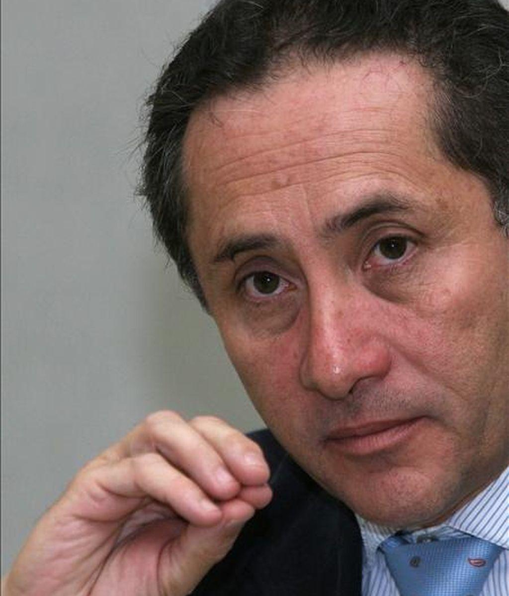 El ministro ecuatoriano de Seguridad interna y exterior, Miguel Carvajal. EFE/Archivo