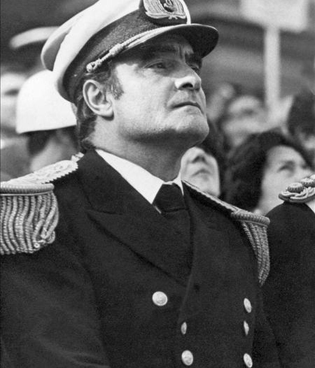 Fotografia de archivo del ex integrante de la junta de gobierno de facto de Argentina, Emilio Massera. EFE/Archivo