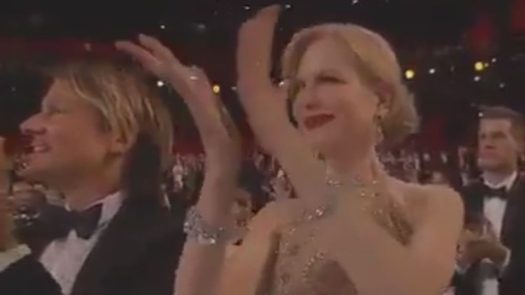 Oscar 2017: ¿Por qué Nicole Kidman aplaude de una forma tan rara?