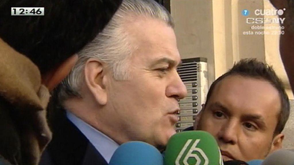 """Bárcenas, de R. Hernando: """"Me parece que el nivel cerebral de este señor está tocado"""""""