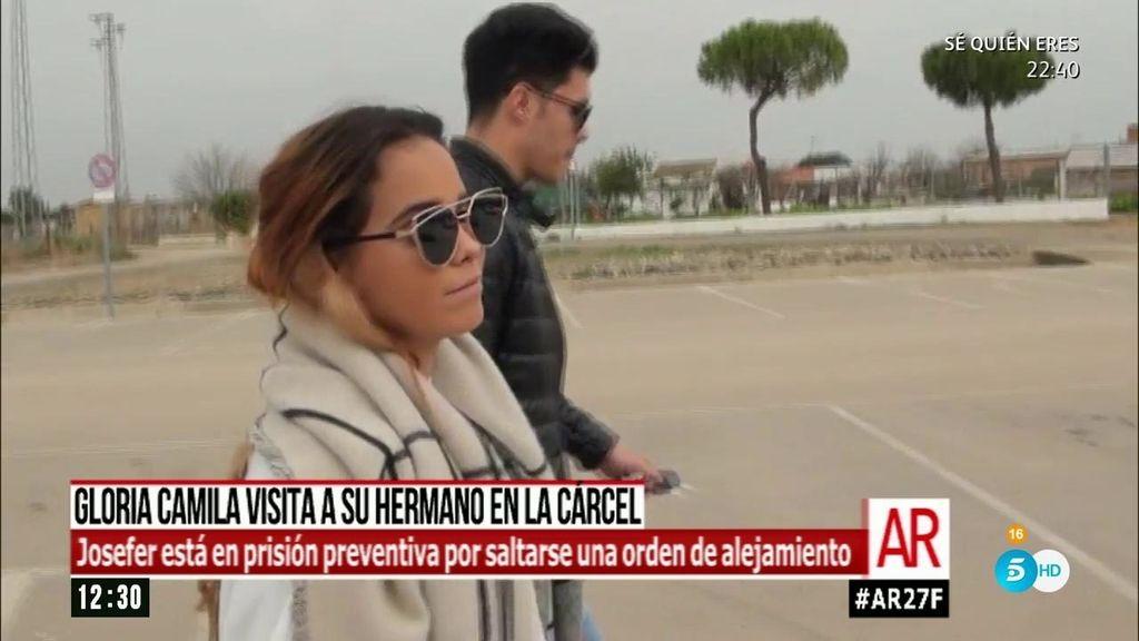 Gloria Camila visita a su hermano José Fernando en la cárcel de Cádiz