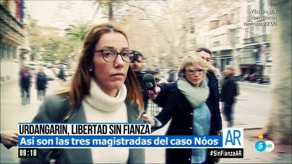 Caso Nóos: Así son las tres juezas que han dictado la libertad provisional de Urdangarin