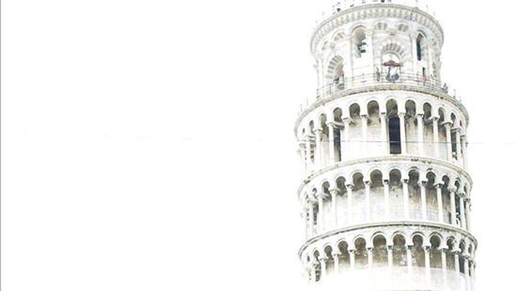 Vista parcial de la Torre de Pisa. EFE/Archivo
