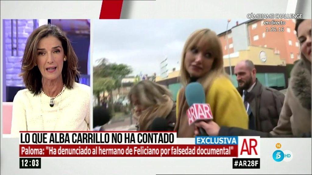 """García Pelayo: """"Alba ha denunciado al hermano de Feliciano por falsedad"""""""