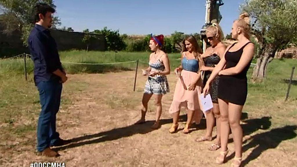Diego crea tensión entre sus chicas con la falsa expulsión de Ana