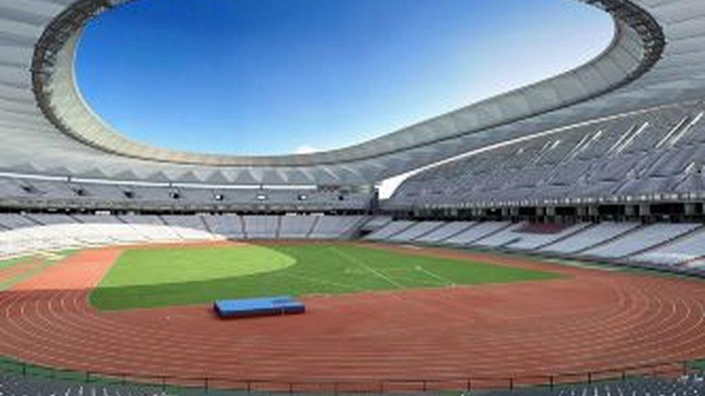 Imagen creada por ordenador del Nuevo Estadio de Madrid. Foto: Gtres