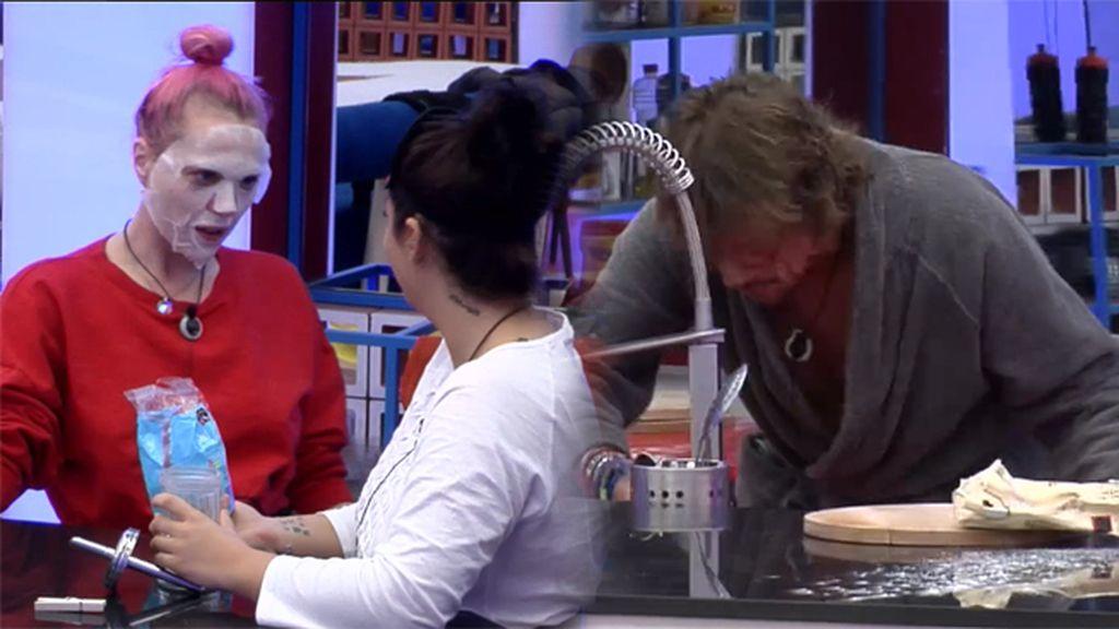 La desagradable broma de Elettra y Daniela que casi hace vomitar a Alejandro