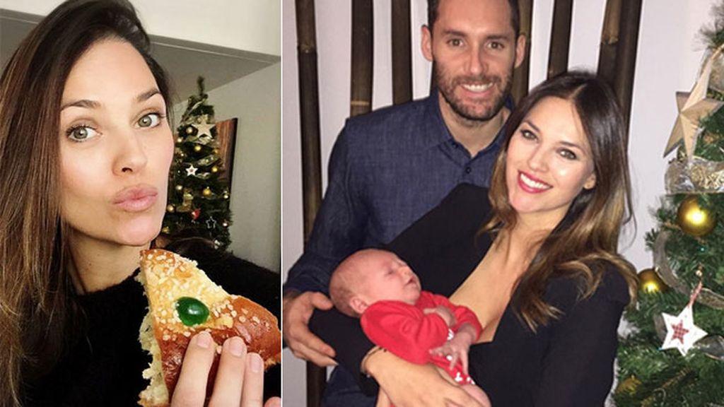 La familia ya ha pasado su primera Navidad juntos