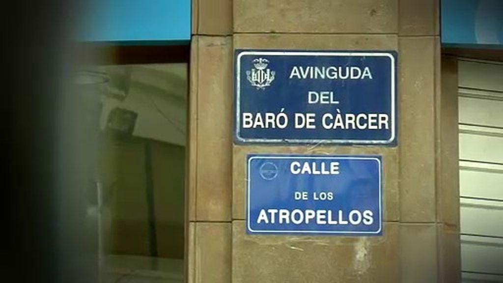 La 'calle de los atropellos' está en Valencia