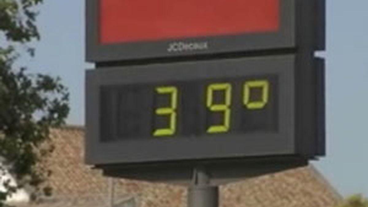 En Cáceres la temperatura media ronda los 29-30 grados.