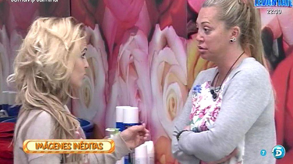Inéditas GH VIP: Chari le dice a Belén que hay concursantes que le tienen miedo