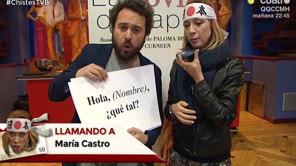 Kamikaze VIP: Eva Isanta le dice a María Castro que le ha robado el papel