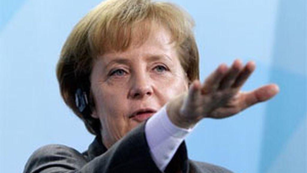 La canciller alemana, Angela Merkel. Foto: AP.