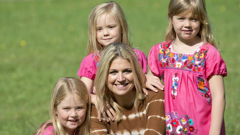 Amalia, Alexia y Ariane, hijas de Máxima de Holanda