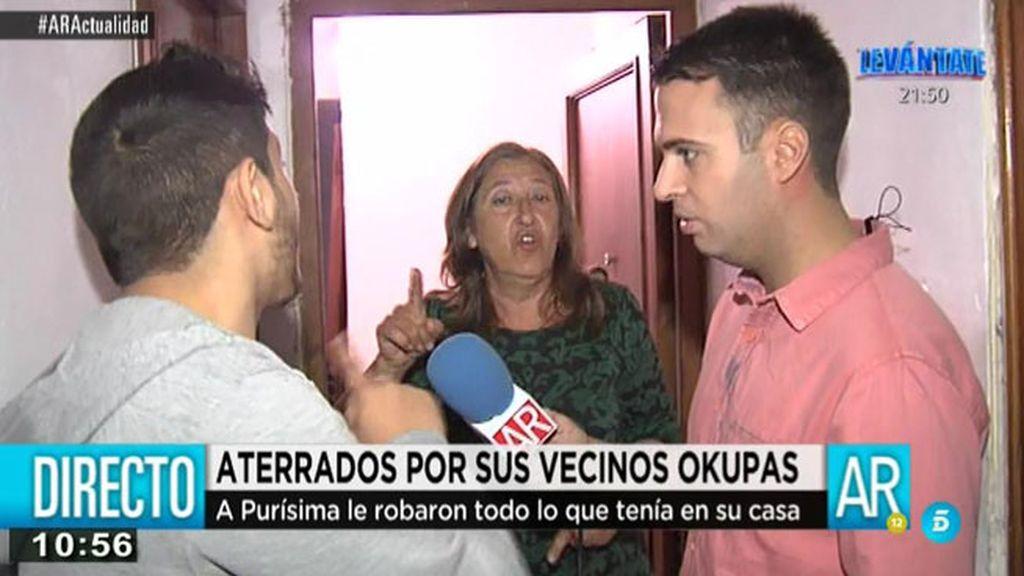 Álex Rodríguez, reportero de 'AR' intenta mediar en un conflicto vecinal