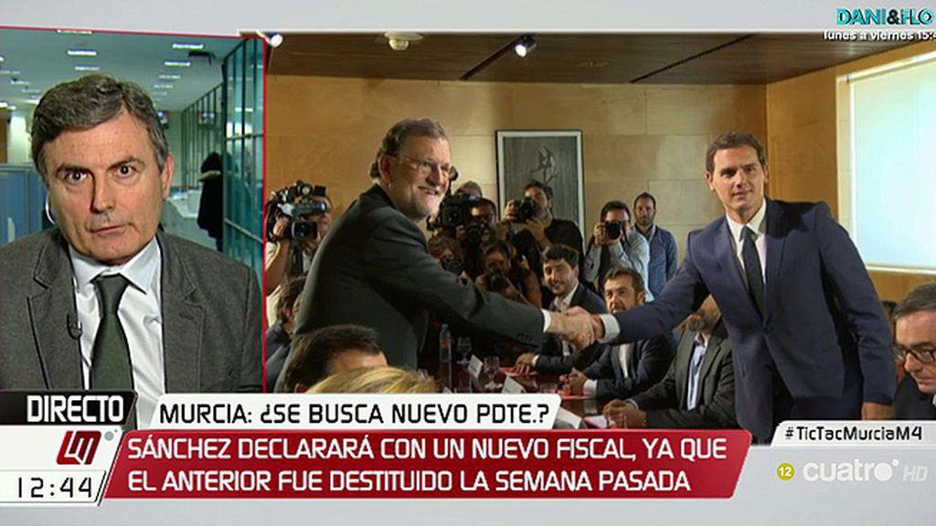"""Pedro Saura: """"El PP ha firmado un acuerdo que sabe que va a incumplir, está entre postverdad y caradura"""""""